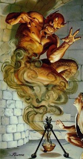 Demonios, Monstruos, Fantasmas y Elementales